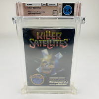 Killer Satellites - Atari 2600 Starpath Supercharger 1982 Sealed WATA 9.4 A++