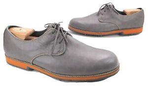 FootJoy City Style 56427 Grey & Orange Golf Golfing Shoes 11 Wide Mens