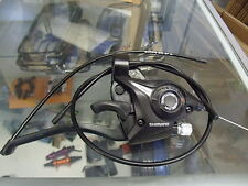 SHIMANO ST-EF51 RAPID FIRE 7 SPEED BLACK BICYCLE SHIFTER AND BRAKELEVER.