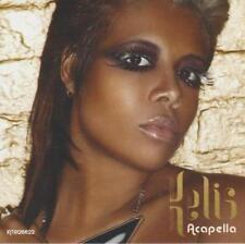 Kelis: Acapella PROMO w/ Artwork MUSIC AUDIO CD Main David Guetta Extended Mix 4