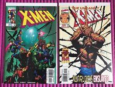 The UNCANNY X-MEN  #370 #371, Marvel 1999 High Grade!