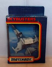 MATCHBOX SKYBUSTERS SB-24 F-16 USAF US Air Force Fighter Jet Aircraft BOXED
