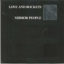 LOVE AND ROCKETS Mirror people UK SINGLE BEGGARS BANQUET 1988