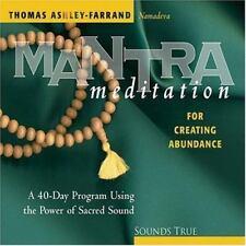 MANTRA MEDITATION FOR CREATING ABUNDANCE Ashley-Farrand Namadeva Sacred Sound CD
