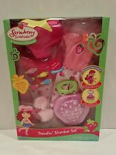 2006 Strawberry Shortcake Travelin Slumber Set NEW IN PACKAGE