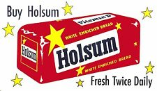Holsum Bread ad Rectangle High Quality Metal Magnet 3 x 5 inches 9330