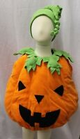 Boutique Jack o Lantern Pumpkin Kids Toddler Baby Halloween Costume 3m-4T NEW