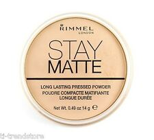 Rimmel Stay Matte Puder Long Lasting Transparent 001 Neu