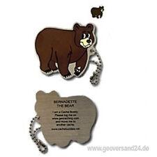 Bernadette the Bear Geocaching Traveltag Travelbug Tb Trackable