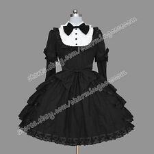 Reenactment Gothic Lolita Punk Gorgeous Victorian Dress Costume Theatre Clothing