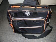 Klein Tools Tradesman Pro Extreme Electricians Bag 78 Pockets 55463 Preowned EZ