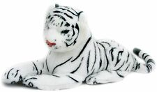 Small Plush Fabric Cuddly Tiger Soft Toy ~ White