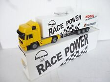 NEW Conrad 1/50 Man TG Race Power Truck  With Race Power Trailer  NEW OVP