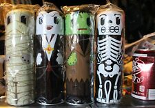 SET of 4 Monsters Collectible candy craft filled Mixo Tin frankenstein halloween