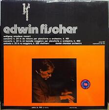 Edwin Fischer - Mozart Concerto 24/22 2 LP Mint- LO 502 Italy Viny Record