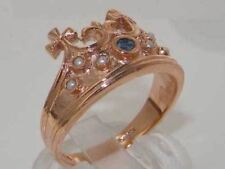 Natural Pearl Rose Gold Fine Rings