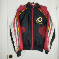 Vintage 90s Redskins NFL Pro Player Reversable Puffer Hooded Jacket Mens Medium