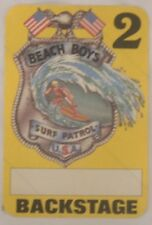 Beach Boys - Original Concert Tour Cloth Backstage Pass