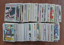 VINTAGE 1980 TOPPS FOOTBALL STARTER SET LOT OF 300+ CARDS NO DUPES