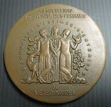 Médaille ASSOCIATION FRANCAISE DES FEMMES DE VETERINAIRES - 72 mm