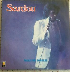 Double Vinyle 33 trs  🎶  MICHEL SARDOU  🎶  TREMA 310063/064 PALAIS DES CONGRES