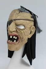 Adult Scary Pirate Halloween Mask Full Face Rubber Mask