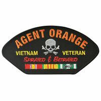 Agent Orange Vietnam Veteran Sprayed and Betrayed Hat Patch