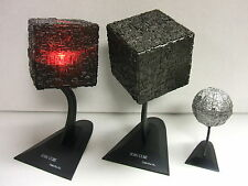 STAR TREK FURUTA BORG CUBE & SPHERE GASHAPON FIGUREREDEMPTION W/ LIGHT-UP US NEW