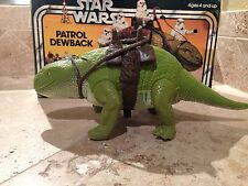 STAR WARS VINTAGE PATROL DEWBACK CREATURE IN BOX!!