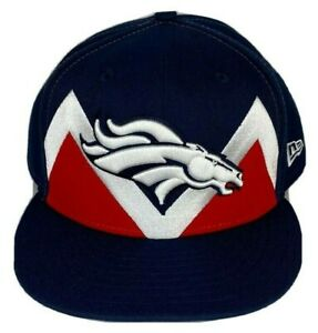 DENVER BRONCOS NFL 59Fifty New Era Fitted Hat Mens Sz 8  2019 On Stage Draft