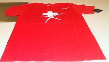 Team Swiss 2015 World Juniors XXL Hockey IIHF 100th Anniversary T Shirt Red