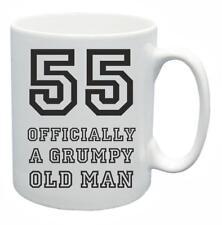 55th Novelty Birthday Gift Present Tea Mug Grumpy Old Git 55 Year Old Coffee Cup