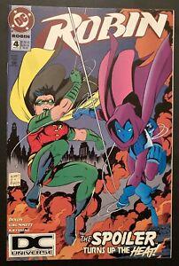 Robin #4 NM DCU Logo Variant Scarce 1994 DC Comics Universe Spoiler