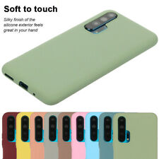 For Huawei Honor 20 Pro 10 Lite 8A 8S Soft Gel TPU Matte Back Case Phone Cover