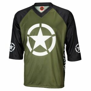 Liberator Men's Mountain Bike Jersey 3/4 length sleeve loose fit casual style