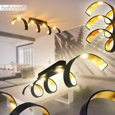 Ronda lámpara de techo lámpara pasillo residenciales sueño iluminación ambiental tela color plata