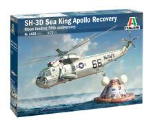 Italeri 1/72 Sikorsky SH-3D Sea King Apollo Recovery Moon Landing 50th Anniversa