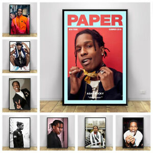 Hip Hop Rapper Canvas Painting Poster Gangster Rap Music Singer Prints Wall Art