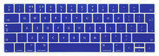 """EU For w/Touch Bar and Touch ID New MacBook Pro 13"""",15"""" 2016 Keyboard Cover Skin"""
