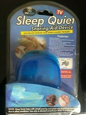 SLEEP QUIET Snoring Aid Device - Help Relieve snoring & sleep apnea - Seen on TV