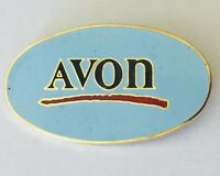 AVON Brand Products Advertising Pin Badge Rare Vintage (H11)