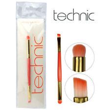 Technic Smokey Eyes Eyeshadow Brush Double Ended, Slanted Angled Liner + Stubby