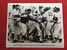 JOHNNY CALLISON PHILLIES AUTOGRAPHED 1964 ALL STAR GAME WINNING HOME RUN 8X10