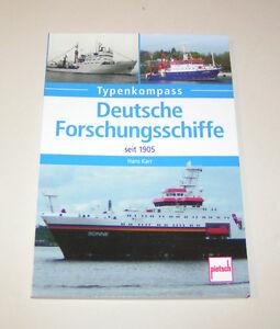Typenkompass Tedesco Forschungsschiffe Dal 1905 Autore: Hans Karr