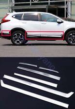 Side Door Body Molding Rear Bumper Cover Trim For Honda CR-V CRV 2017-2018 Set