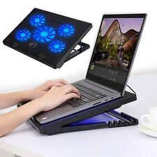 MoKo Laptop Cooler, NoteBook Cooling Pad Silent Gaming Laptop Radiator 12-17inch