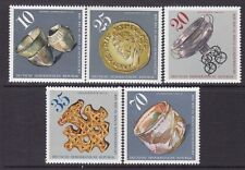 Germany DDR 1775-79 MNH 1976 Various Archaeological Vessels Found in DDR Set