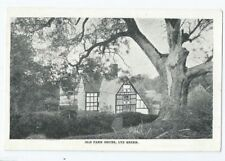 Postcard Old Farm House Lye Green Crowborough Hartfield Friars Gate