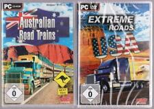 Australian Road Trains Truck Frachtzüge + Extreme Roads USA Simulation PC Spiele