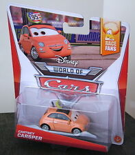 Disney World of Cars Race Fans Collection CARTNEY CARSPER with #95 Emblem NEW!